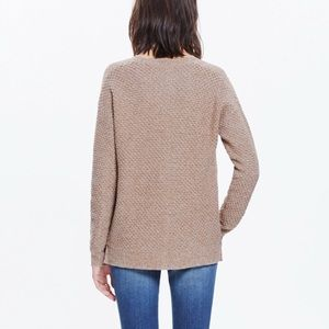 Sweaters - Madewell Landmark Zipper Sides Pullover